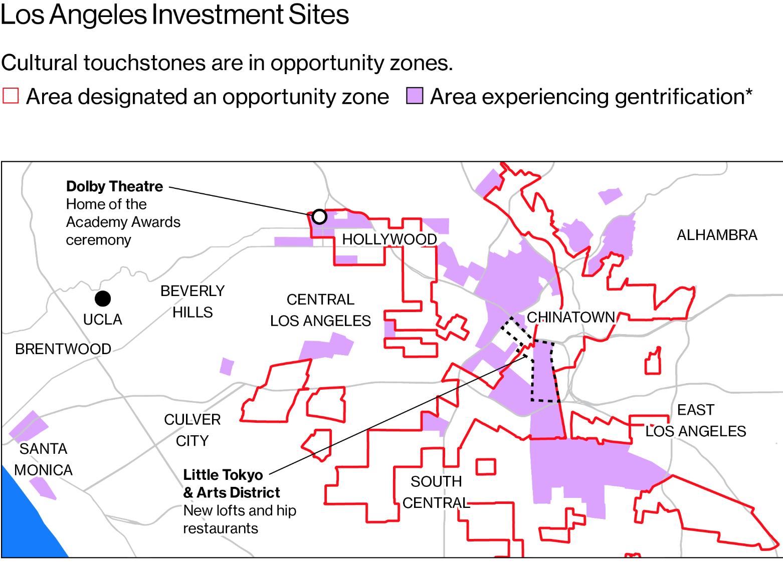 Opportunity Zones LA