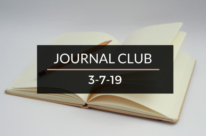 Journal Club 3-7-19