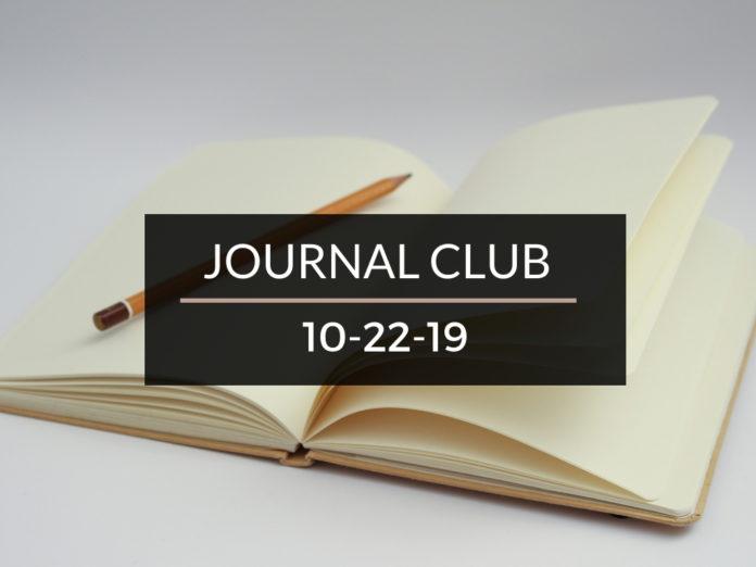 Journal Club October 22 2019