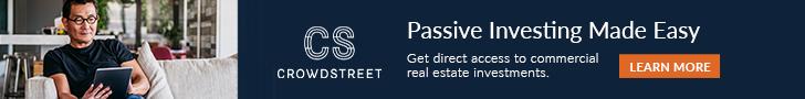 Haga clic aquí CrowdStreet inversión pasiva