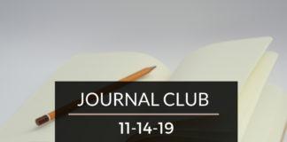 Journal Club 11/14/19