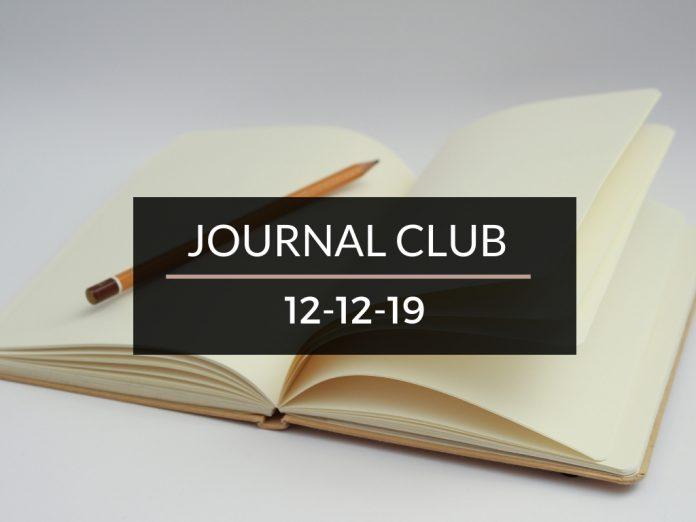 Journal Club 12/12/19