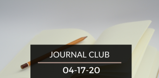 Journal Club 4-17-20