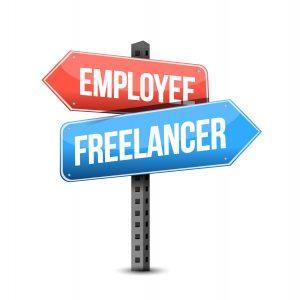 job as an employee versus a job as an independent contractor
