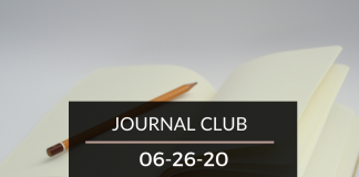 Journal Club 6-26-20