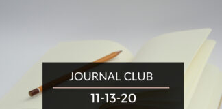 Journal Club 11-13-20