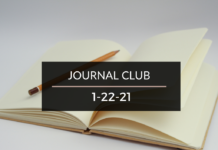 Journal Club 1-22-21