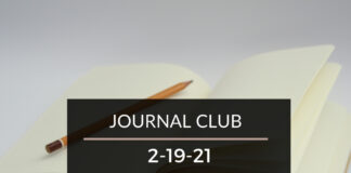 Journal Club 2-19-21
