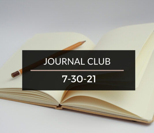 Journal Club 7-30-21