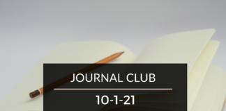 Journal Club 10-1-21